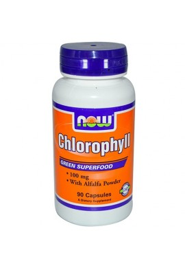 NOW Chlorophyll 100 mg - 90 капсули