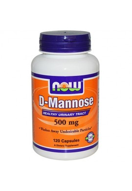 NOW D-Mannose 500 mg - 120 капсули