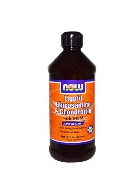 NOW Liquid Glucosamine/Chondroitin/MSM - 473 ml