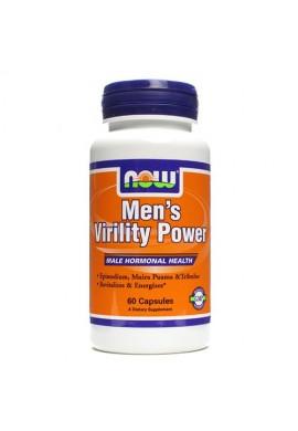NOW Mens Virility Power - 60 капсули