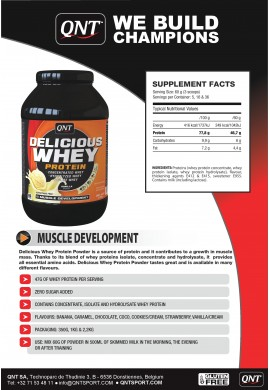 QNT Delicious Whey Protein 1 kg