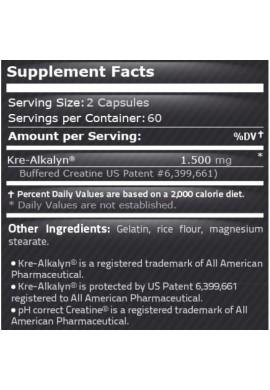 Pure Nutrition Kre-alkalyn 120 caps