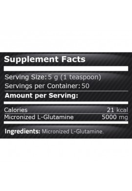 Pure Nutrition 100% Pure Glutamine 250 gr