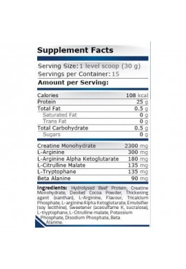 Pure Nutrition BEEF PROTEIN - 454 g