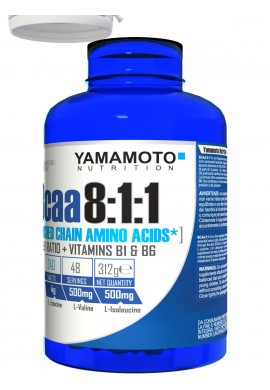 YAMAMOTO Nutrition BCAA 8:1:1 200tabs