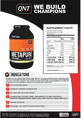 QNT Metapure Zero Carb 2 kg