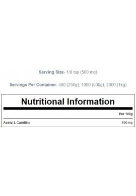 MYPROTEIN Acetyl L-Carnitine - 500 g