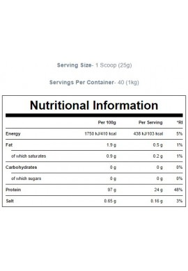 MYPROTEIN CarniPro (97% Hydrolysed Beef Protein) - 1000 g