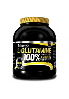 Biotech 100% L-Glutamine 240 gr