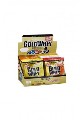 WEIDER GOLD WHEY 30packs.