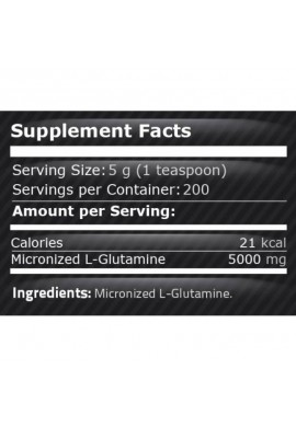 Pure Nutrition 100% Pure Glutamine 1000 gr