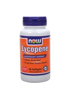 NOW Lycopene 10mg. 60sgels