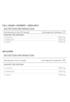 Battery Nutrition BCAA Powder 500g