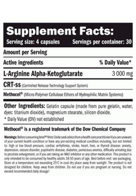 Amix Nitric Oxide 750 mg 360 caps