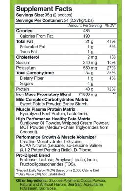 MusclePharm Arnold Iron Mass 5lb