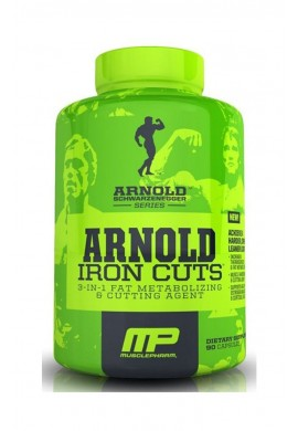 MusclePharm Arnold Iron Cuts 120 caps