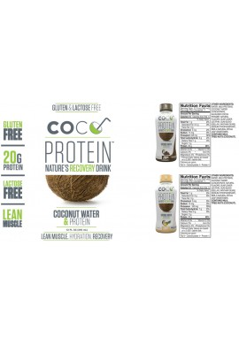 MusclePharm - Coco Protein - 355ml.