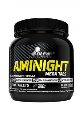 AMINIGHT Mega Tabs 300tabs.