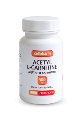 Acetyl L-carnitine 60 капсули