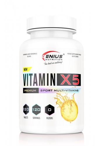 GENIUS Vitamin-X5 120 tabs